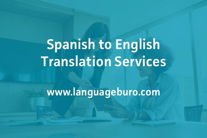 English to Spanish Translation Services