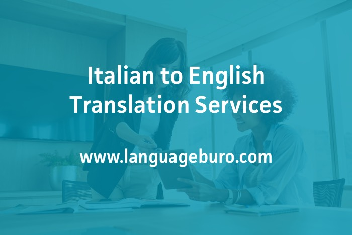 Italian to English Translation Services